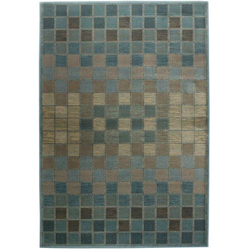 Rizzy Rugs Bellevue Rectangle: 5 Ft. 3 In. x 7 Ft. 7 In. Blue Rug