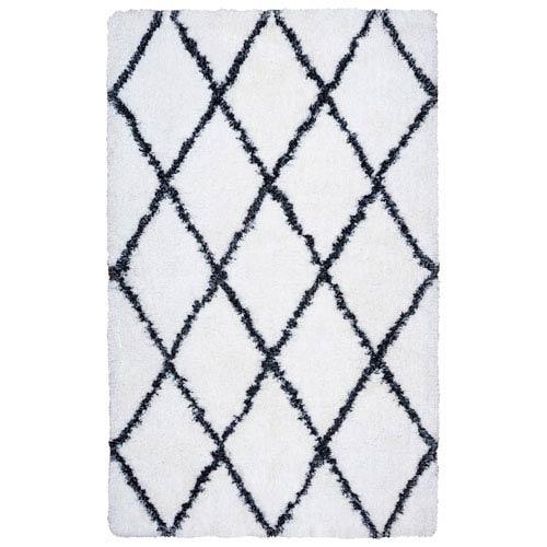 Connex White Rectangular: 3 Ft. x 5 Ft.  Rug
