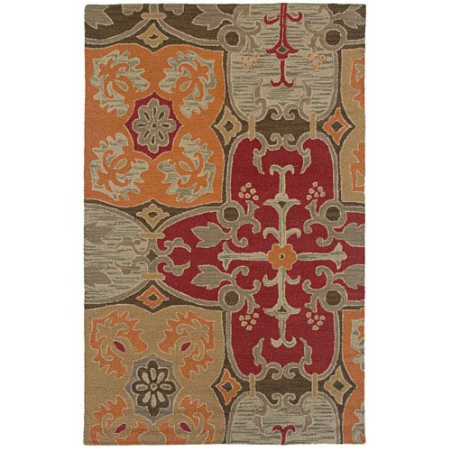 Rizzy Rugs Country Rectangle: 5 Ft. x 8 Ft. Multi Rug