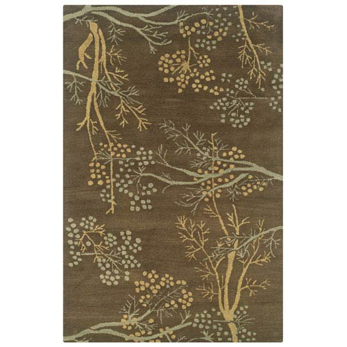 Craft Brown Rectangular: 5 Ft. x 8 Ft.  Rug