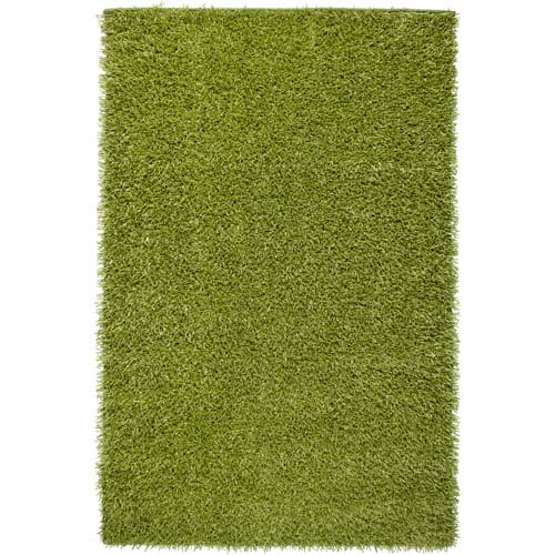 Rizzy Rugs Kempton Rectangle: 5 Ft. x 7 Ft. Lime Rug
