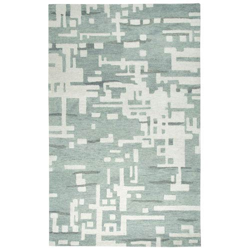 Rizzy Rugs Leone Gray Rectangular: 2 Ft. x 3 Ft.  Rug