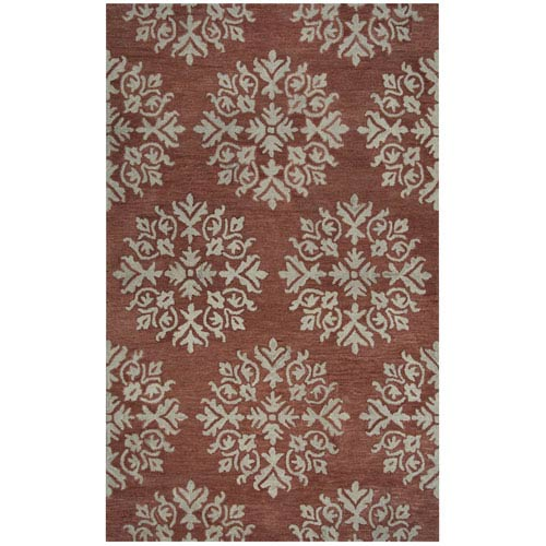 Rizzy Rugs Leone Coral Rectangular: 2 Ft. x 3 Ft.  Rug