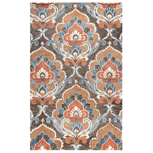 Leone Brown Rectangular: 2 Ft. x 3 Ft.  Rug