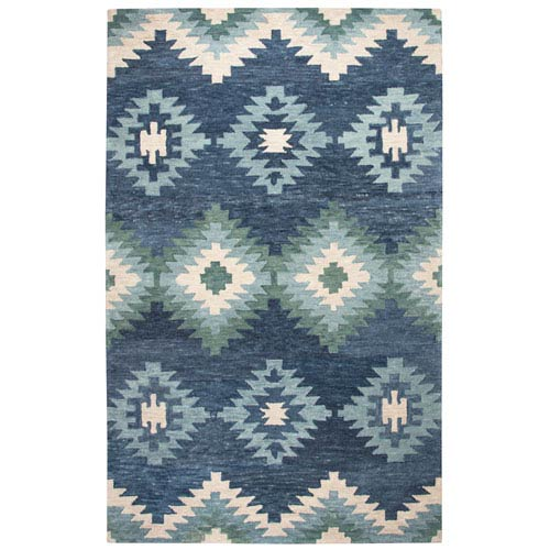 Rizzy Rugs Leone Blue Rectangular: 2 Ft. x 3 Ft.  Rug