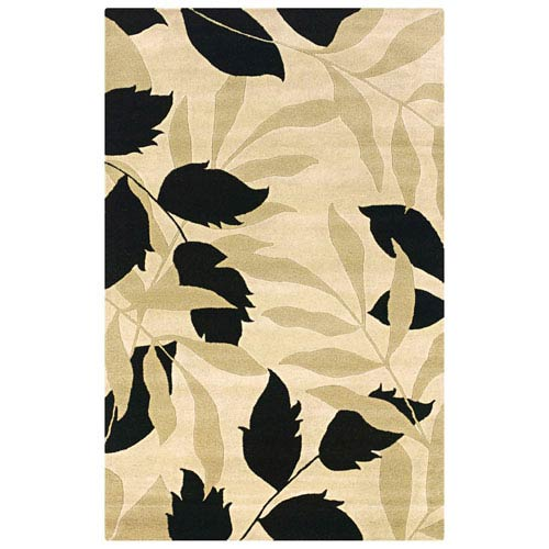 Rizzy Rugs Pandora Rectangle: 5 Ft. x 8 Ft. Ivory Rug