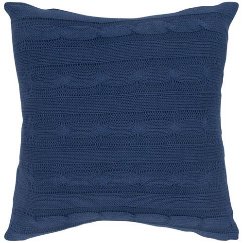 Blue 18-Inch Holiday Pillow