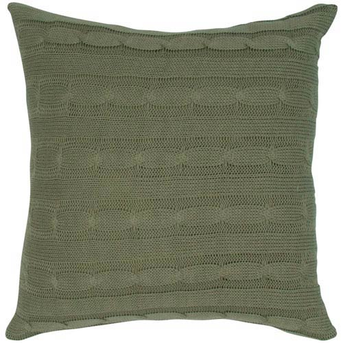 Olive 18-Inch Holiday Pillow