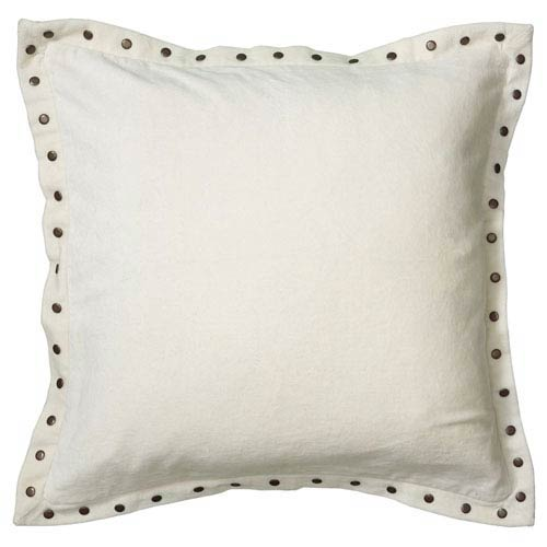 White 18-Inch Holiday Pillow