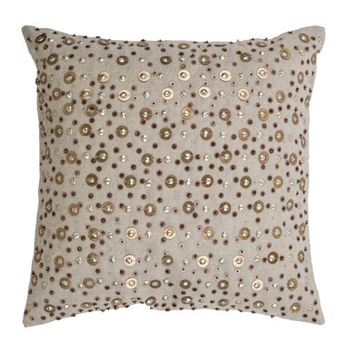 Ivory 18-Inch Holiday Pillow