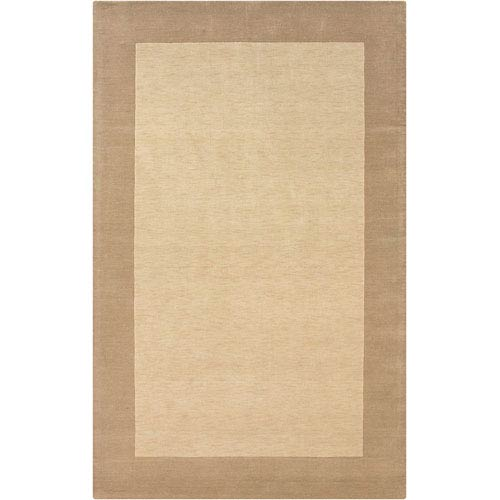 Rizzy Rugs Platoon Rectangle: 5 Ft. x 8 Ft. Light Beige Rug