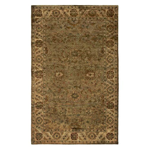 Rizzy Rugs Shine Rectangle: 5 Ft. x 8 Ft. Green Rug