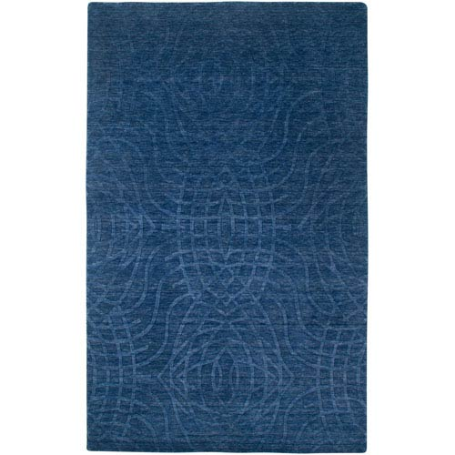 Rizzy Rugs Uptown Rectangle: 5 Ft. 6 In. x 8 Ft. 6 In. Indigo Blue Rug