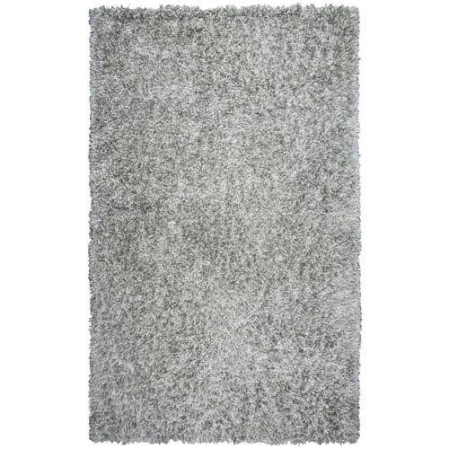 Rizzy Rugs Urban Dazzle Gray Rectangular: 5 Ft. x 7 Ft. 6-Inch  Rug