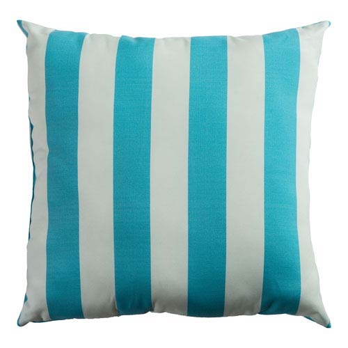 Indoor/Outdoor Ocean 22-Inch Throw Pillow