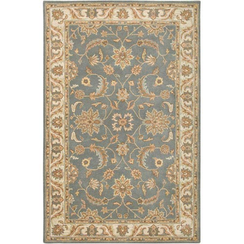 Rizzy Rugs Volare Rectangle: 5 Ft. x 8 Ft. Light Gray Rug