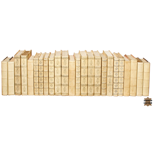 Ivory Paper Books, Set of 24