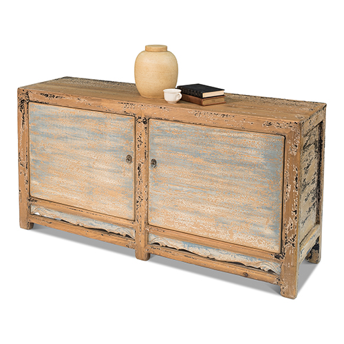 Blue Charcoal Cabinet