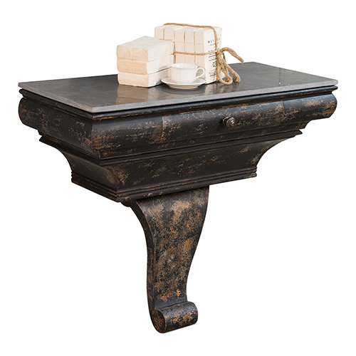 Black Burton Console Table