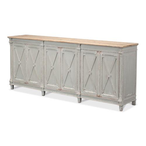 Gray Marksman Sideboard