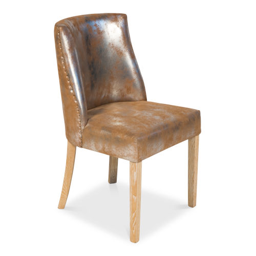 Tan Dallas Dining Side Chair