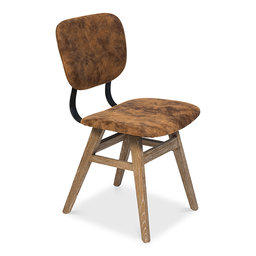 Tan 19-Inch Dining Side Chair