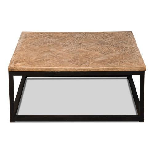 Tan 36-Inch Low Table