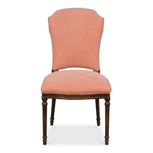 Orange Dining Side Chair