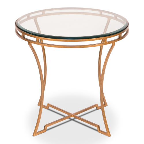 Gold 24-Inch Table