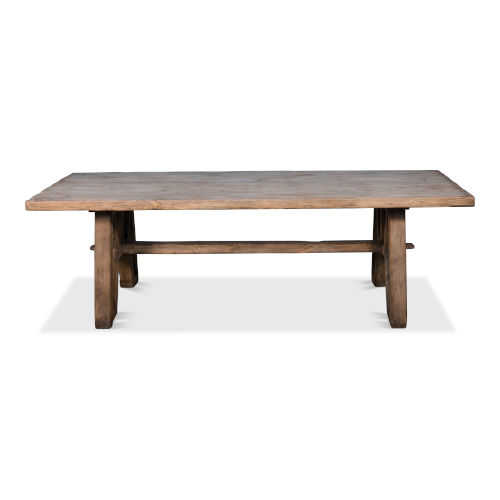 Tan 39-Inch Miners Camp Dining Table