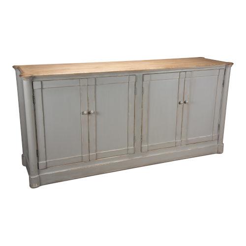 Gray Fieldstone Sideboard