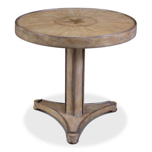 Gray Milo Lamp Table