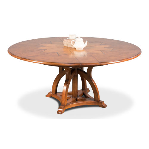 Brown 54-Inch Austin Jupe Dining Table