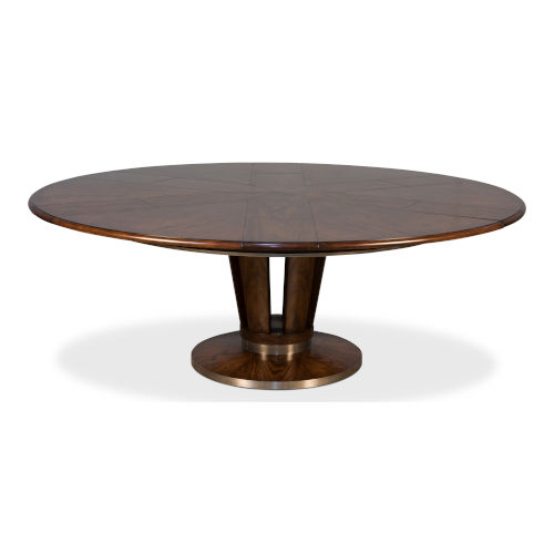 Brown 64-Inch Soho Jupe Dining Table