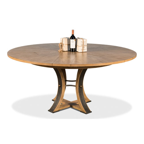Beige 45-Inch Tower Jupe Dining Table