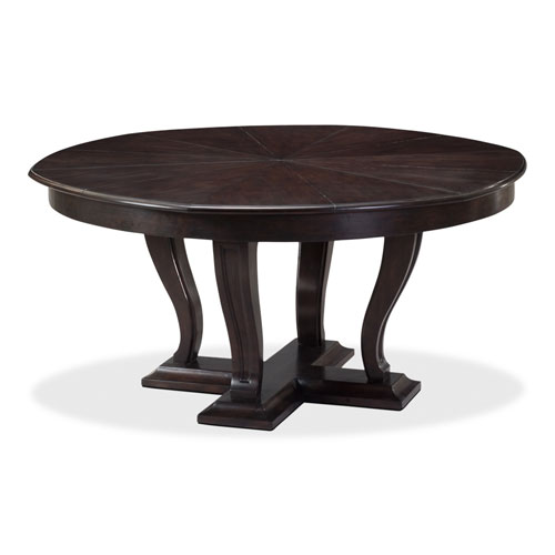 Black 64-Inch Metropolitan Jupe Dining Table