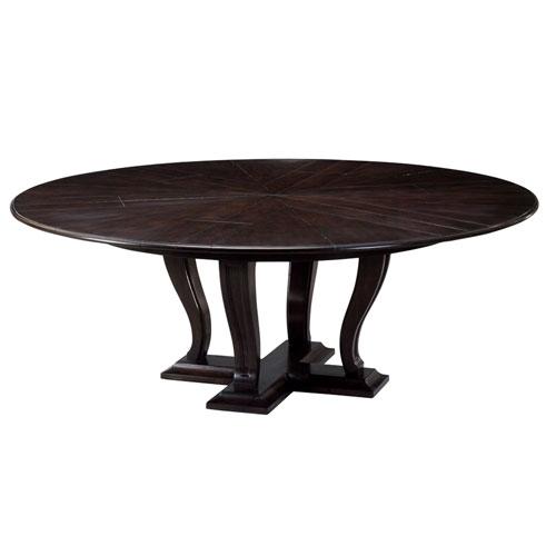 Black 70-Inch Metropolitan Jupe Dining Table