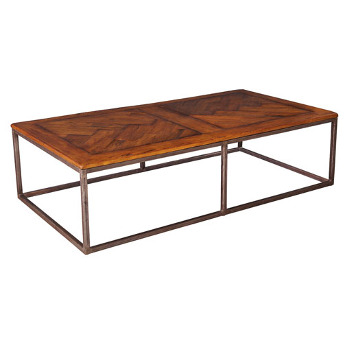 Fruitwood Cascade Cocktail Table