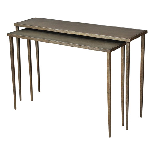 Sarreid Nest Of Two Console Tables