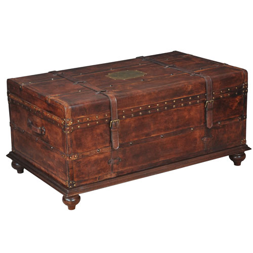 Sarreid Laramie Trunk Coffee Table
