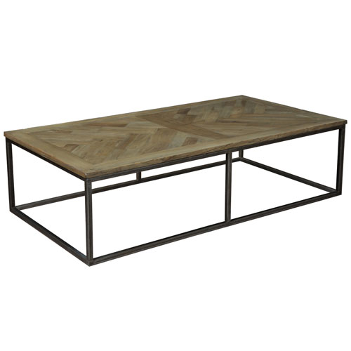 Brown Cascade Cocktail Table