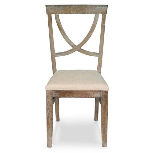 Whitewash Monets Chair