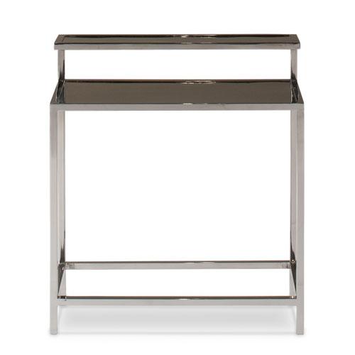 Sarreid Stainless Steel Tier Table
