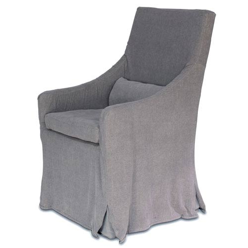 Sarreid Skirted Arm Chair