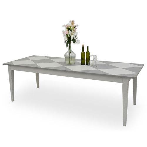 Farm House Diamond Top Dining Table