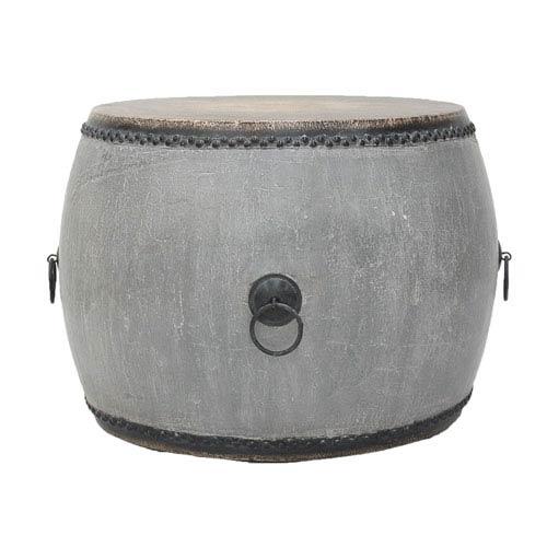 Sarreid Drum Side Table