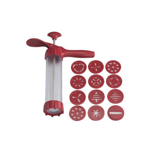 Red Spritz Cookie Press Deluxe