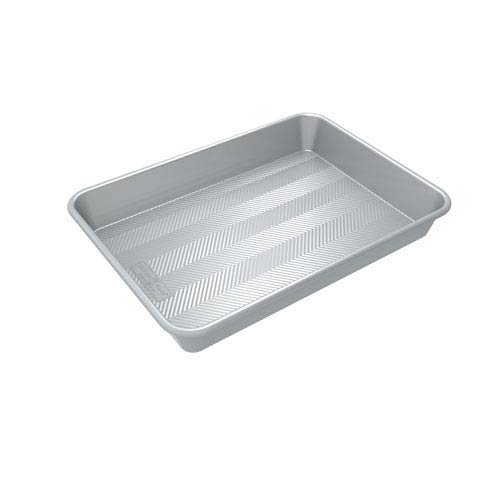 Prism Silver 13 x 18-Inch High-Sided Cake Pan