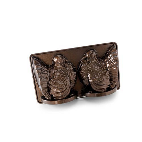 Brown Classic 3-D Turkey Mold Pan