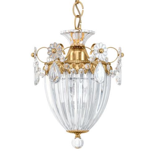 Bagatelle Heirloom Gold One-Light Mini Pendant